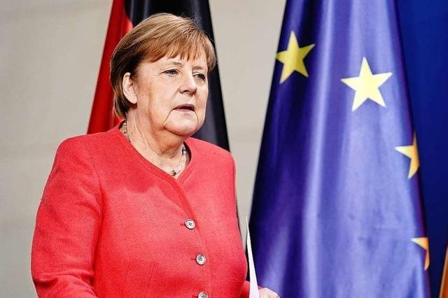 Angela Merkel und ihr europäisches Finale