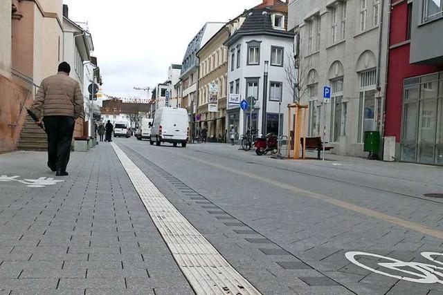 Am 3. August wird die nördliche Basler Straße zur Fußgängerzone