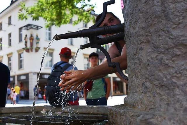 Die Wasserspiele in Lörrach laufen ab 1. Juli