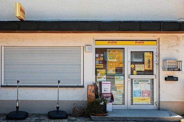 Die Postbank in March-Buchheim stellt ihren Schalterservice ein