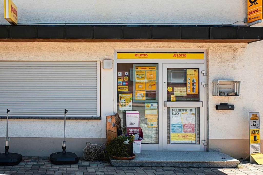 Das Lädele in der Buchheimer Hauptstra...ich  zum Monatswechsel daraus zurück.     Foto: Hubert Gemmert