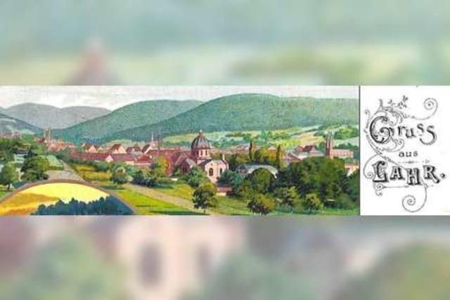 Alte Ansichtskarten aus Lahr und der Region