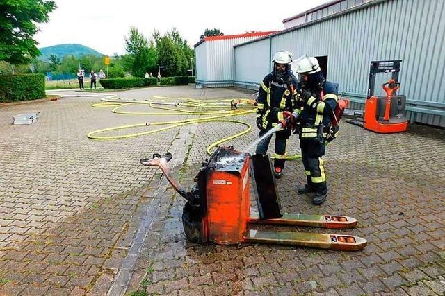 Rascher Einsatz der Feuerwehr in Murg verhindert Schlimmeres