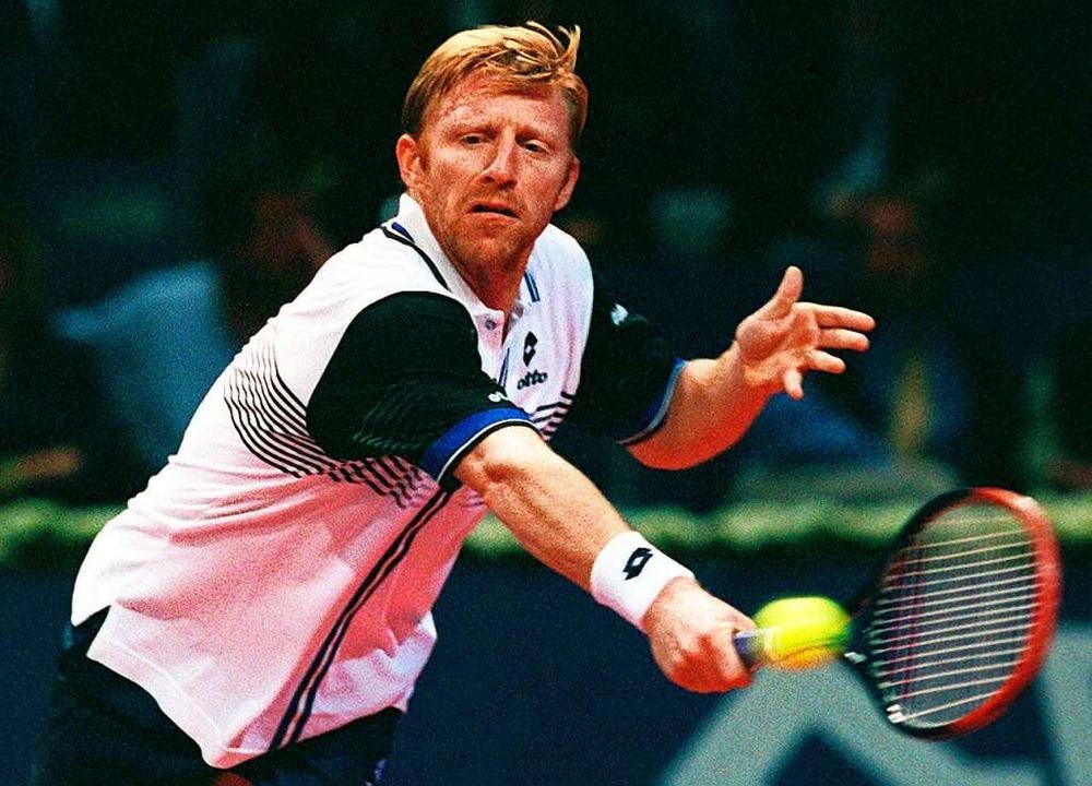 Becker 1998 bei den Swiss Indoors in Basel, ein Jahr später trat er zurück.  | Foto: Rolf_Haid