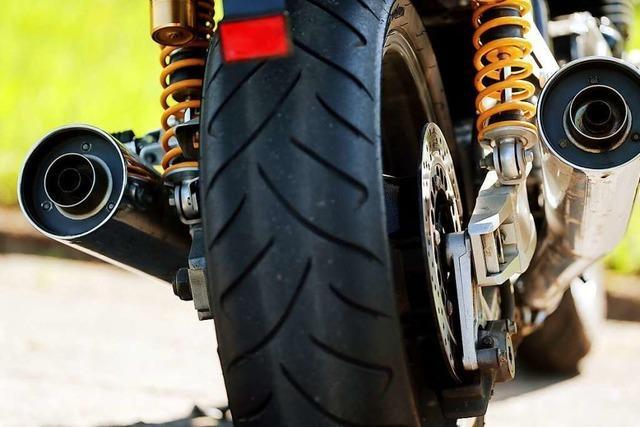 Motorradfahrer stürzt in Laufenburg wegen Dieselspur