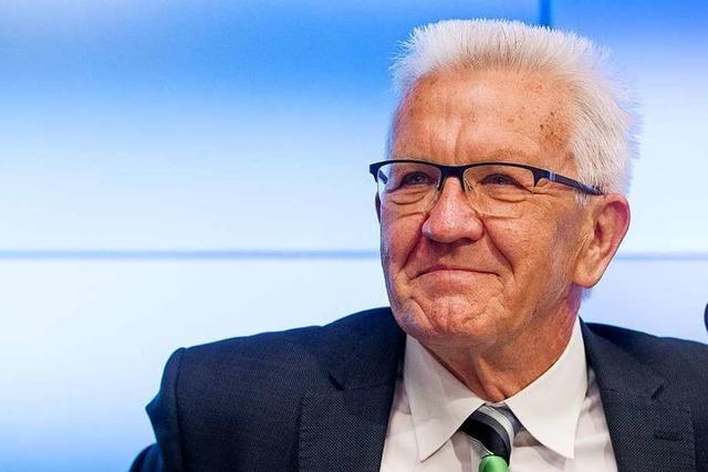 Kretschmann meldet sich auf Facebook zurück – und wird positiv begrüßt