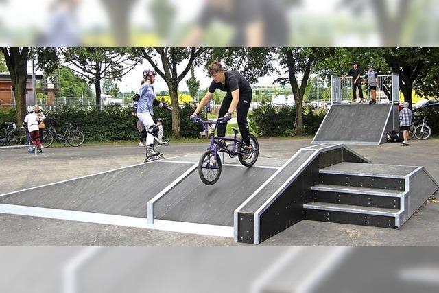 Abstands- und Hygieneregeln gelten auch beim Skaten