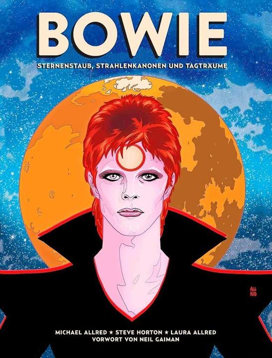 Michael Allred und Steve Horton haben ...kann, wer schon alles über Bowie weiß.  | Foto: Cross Cult