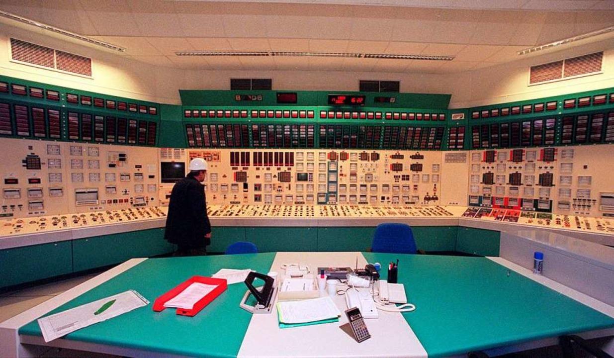 Mehr als 40 Jahre lang wurde aus diese...Betrieb des Akw Fessenheim gesteuert.   | Foto: DAMIEN MEYER