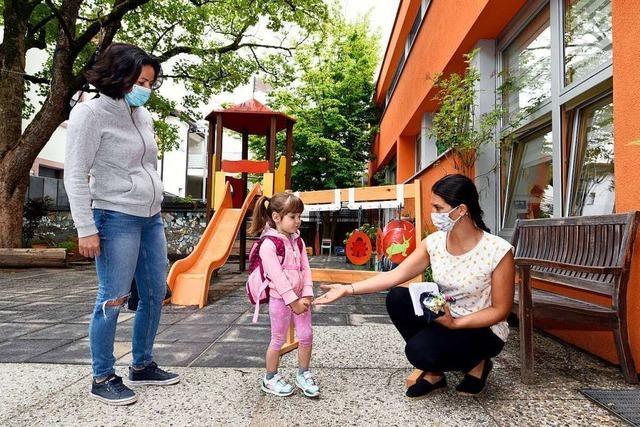 Die Kindertagesstätten in Freiburg haben wieder geöffnet