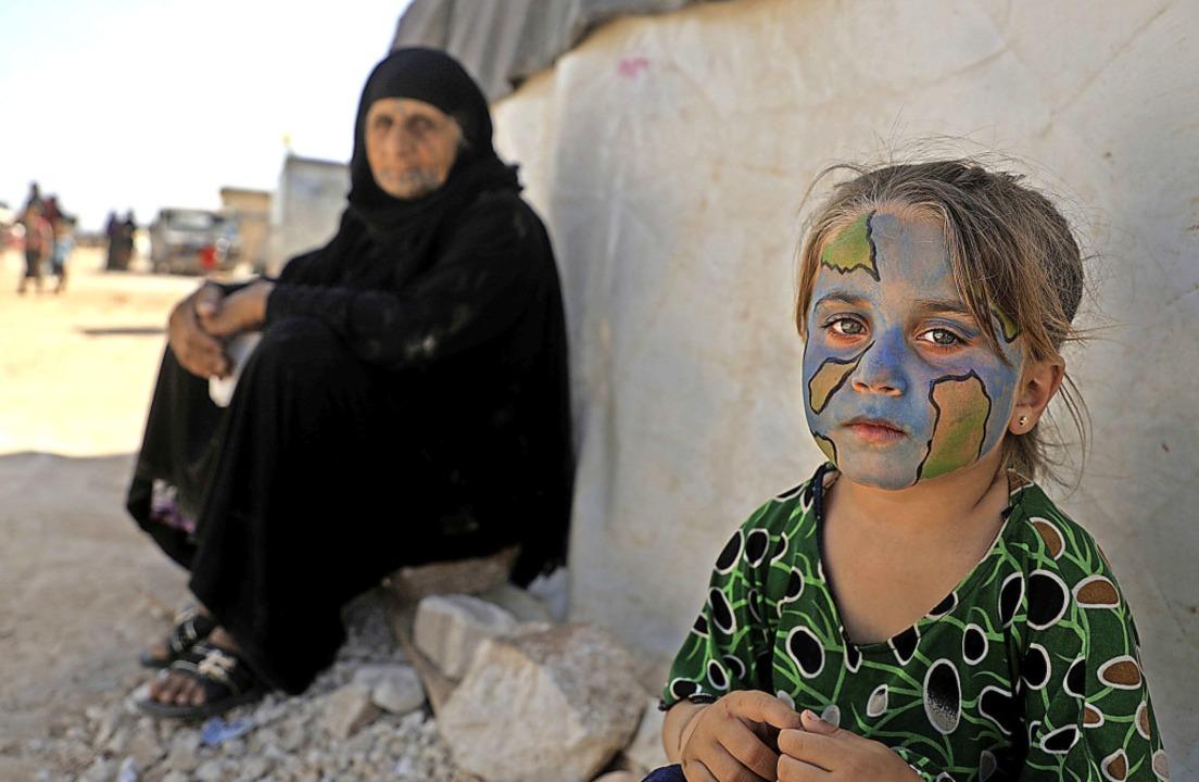 Die Kinder die Hauptleidtragenden des Kriegs in Syrien.   | Foto: AAREF WATAD