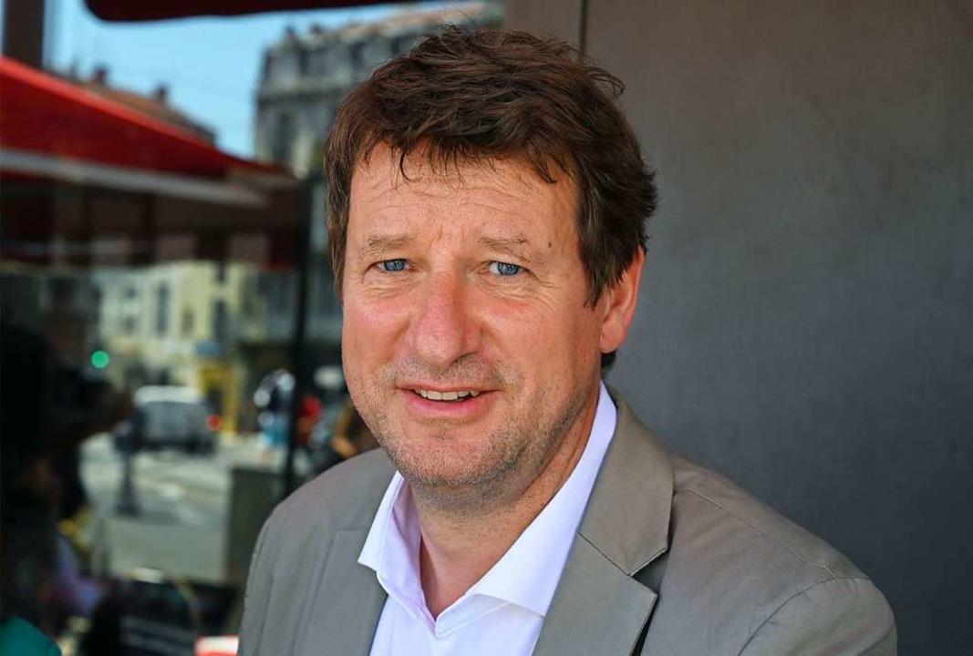Der grüne Europaabgeordnete Yannick Ja... Präsidentschaftswahlen herausfordern.    Foto: PASCAL GUYOT (AFP)