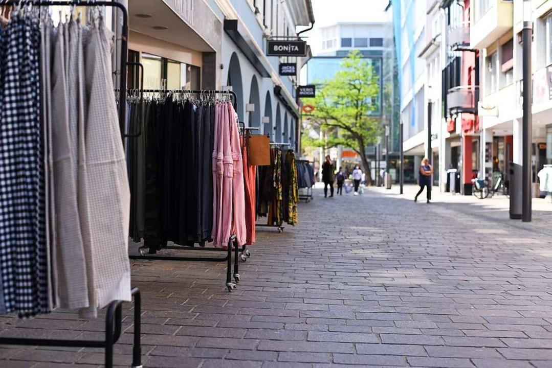 Mehr als 30 Prozent der Händler erwart... nur eine verhaltene Umsatzsteigerung.    Foto: Jonas Hirt