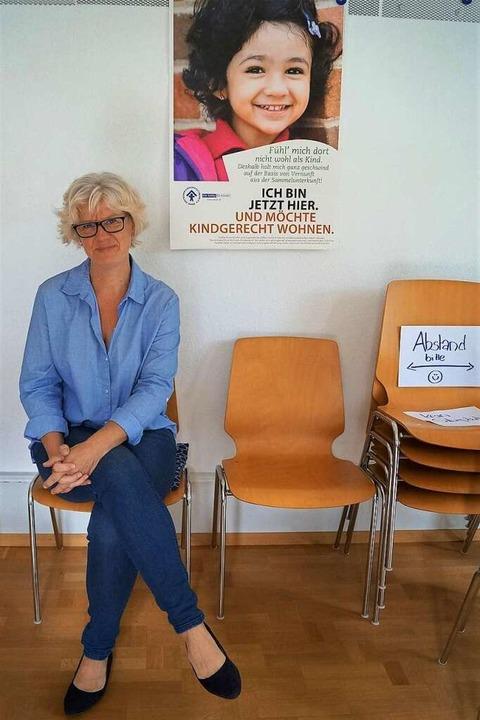 Anja Sethmann-Laudert koordiniert die Familienpaten für den Kinderschutzbund.    Foto: Nicole Rosenthal