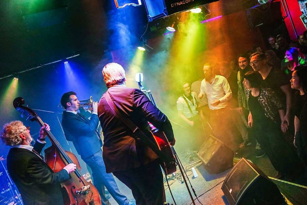 Live-Konzerte wie hier im März 2019 wi...enbetrieb soll aber im August starten.  | Foto: Sandra Decoux-Kone