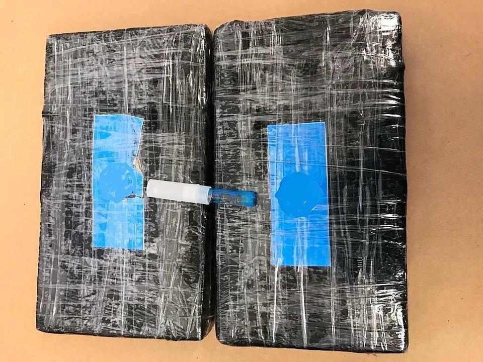 Das gefundene Kokain    Foto: Hauptzollamt Lörrach