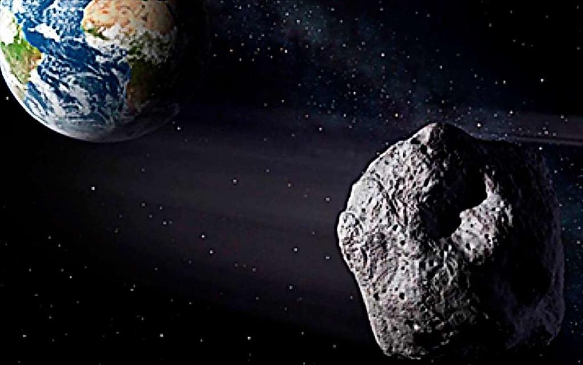 Asteroiden können gefährlich werden, wenn sie Richtung Erde fliegen.  | Foto: Nasa