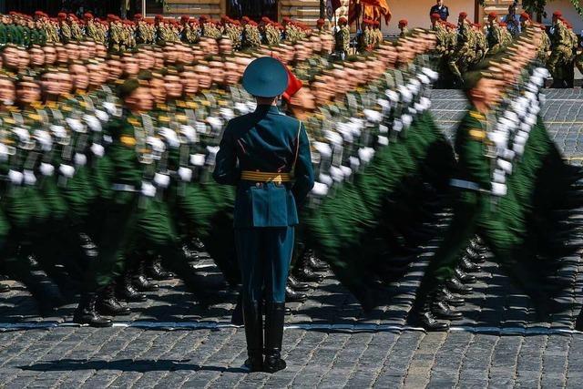Was ist eine Militärparade?