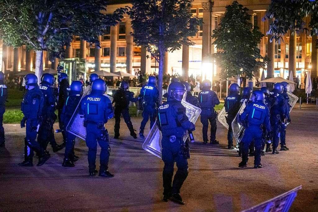 Was Ist In Stuttgart Passiert
