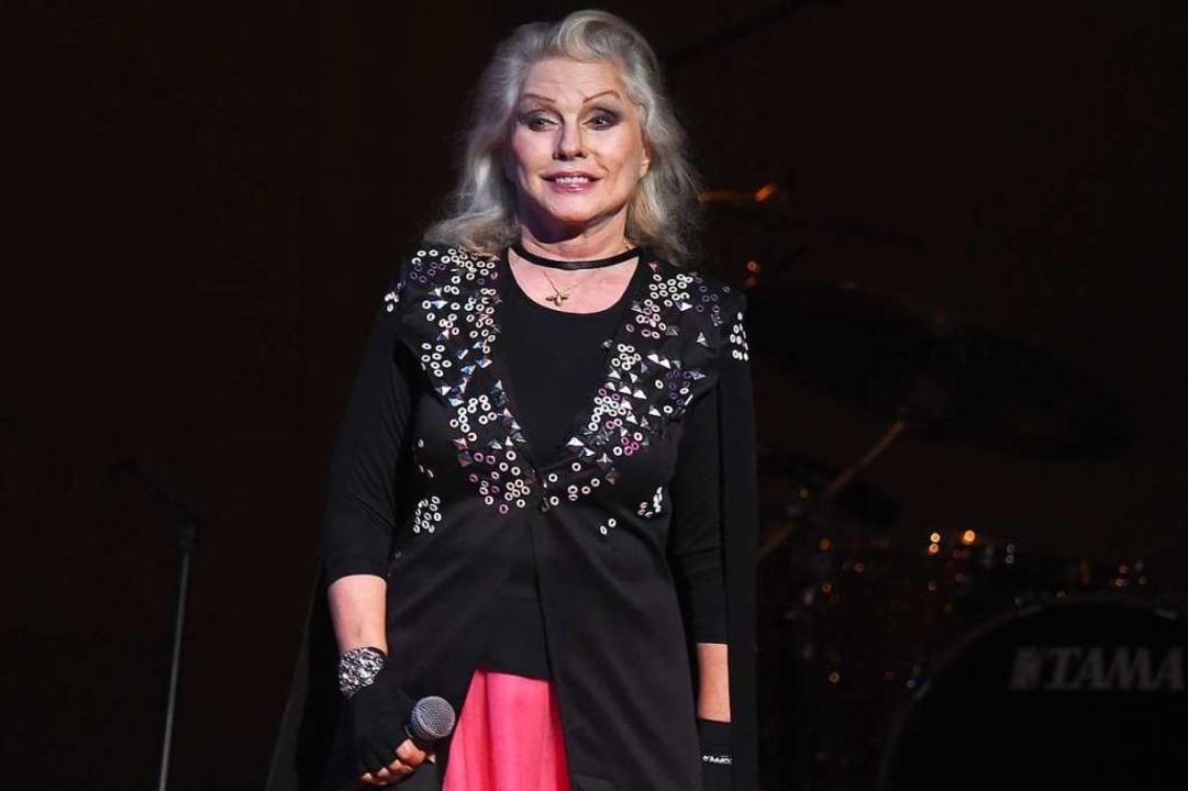 Debbie Harry bei einer Benefiz-Gala im Februar 2019    Foto: Ilya S. Savenok