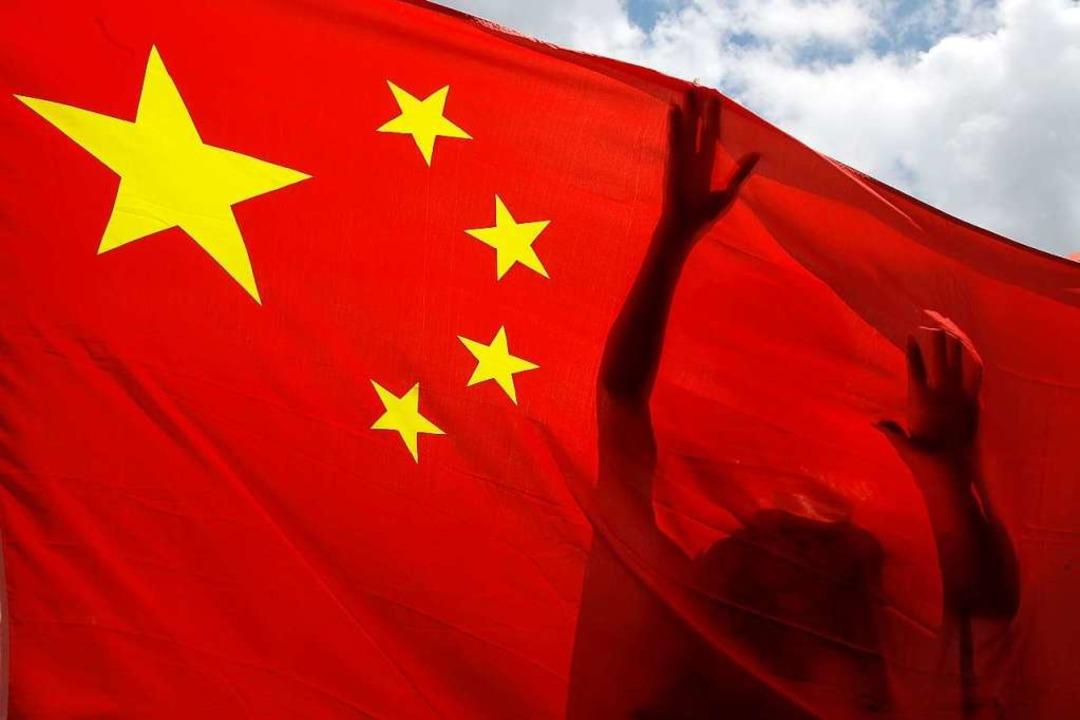 China drückt Sicherheitsgesetz für Hongkong durch.  | Foto: Kin Cheung (dpa)