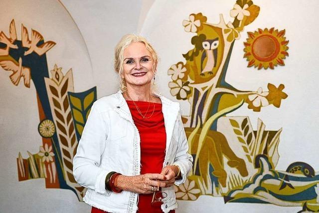 Die Leiterin der Pestalozzi-Grundschule, Christa Kleemann, geht in Rente