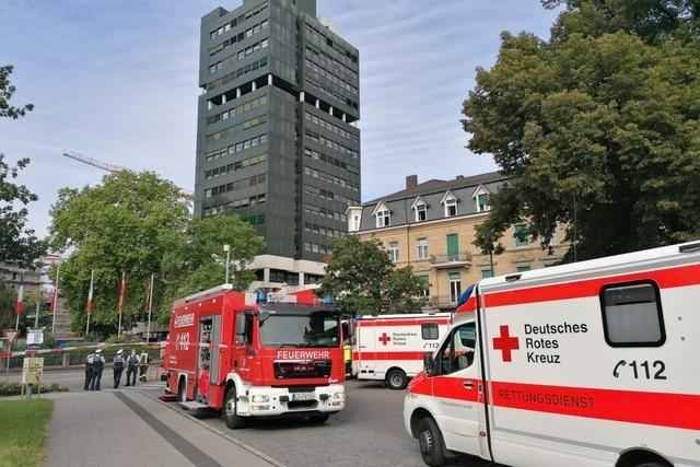 Rathaus Lörrach bleibt nach Teilevakuierung am Dienstag geschlossen