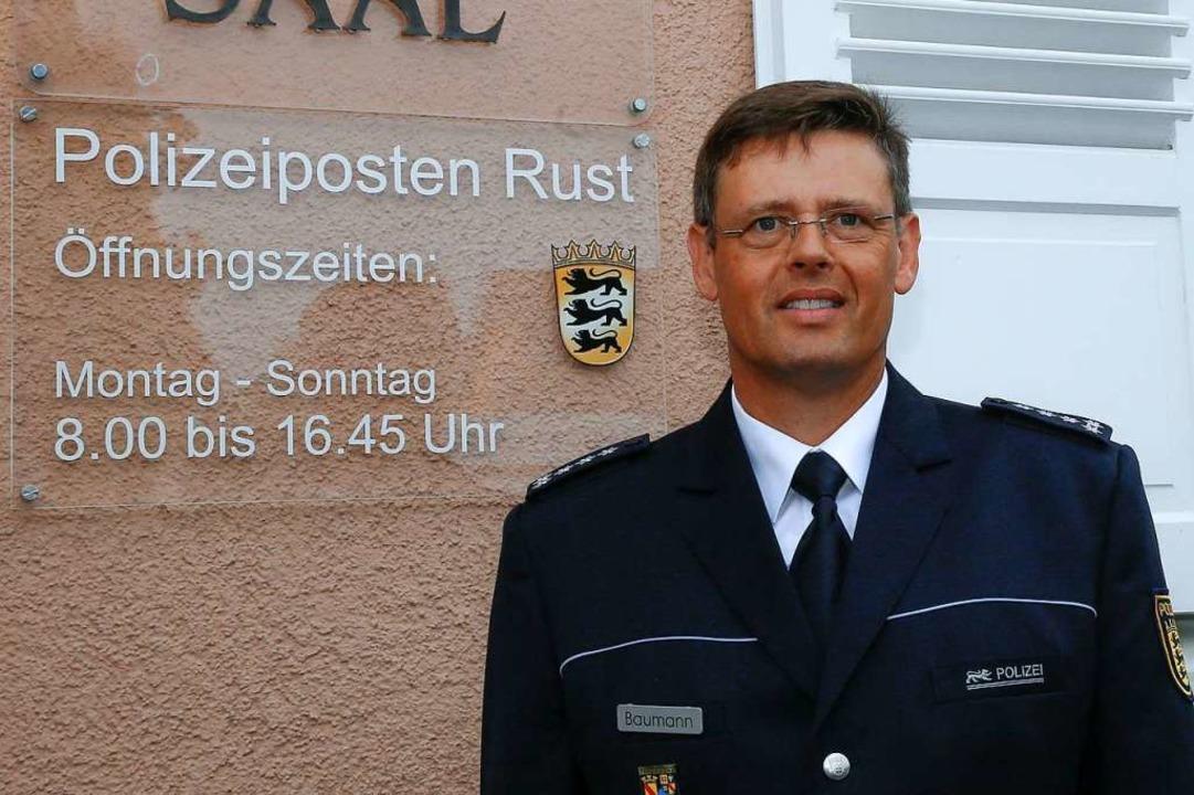 Polizeipostenchef Martin Baumann wird aus Zeuge im Prozess aussagen.    Foto: Sandra Decoux-Kone