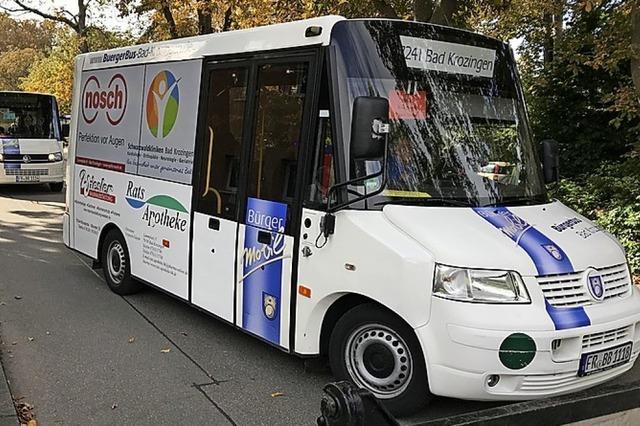 Bad Krozinger Bürgerbus fährt ab 6. Juli wieder