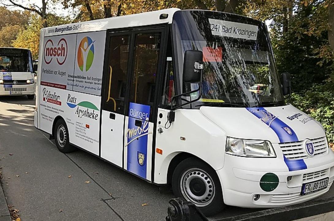 Fährt ab Montag wieder: Bürgerbus  | Foto: Hans-Peter Müller