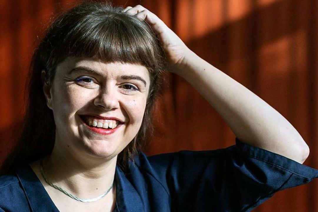 Eva Müller, Dorfschreiberin 2020  | Foto: Melina Moersdorf