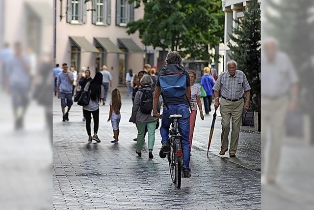Für ein besseres Miteinander von Fuß- und Radverkehr