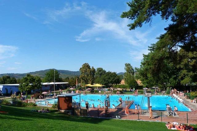 Am Montag öffnet das Ihringer Schwimmbad