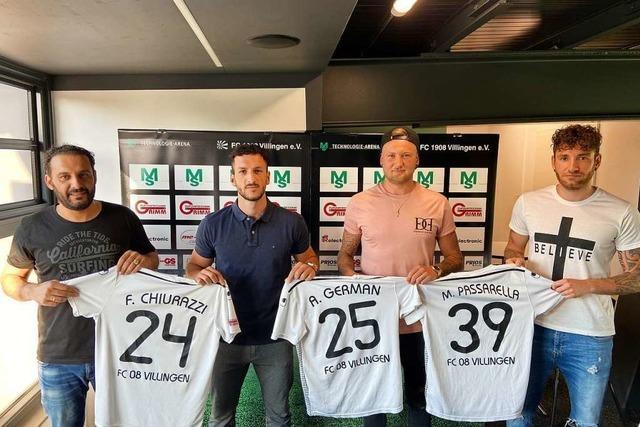 Aufsteiger FC 08 Villingen II baut den Kader um vier erfahrene Spieler herum auf
