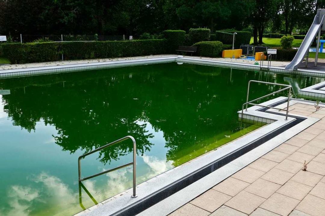 Das Becken des Umkircher Aquafit ist g...Bads muss der Gemeinderat entscheiden.  | Foto: Manfred Frietsch