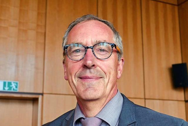 Christoph Huber als Bürgermeister in Weil am Rhein bestätigt