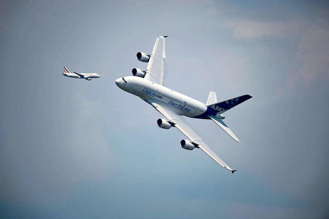 Ein Airbus A380  | Foto: ERIC FEFERBERG (AFP)