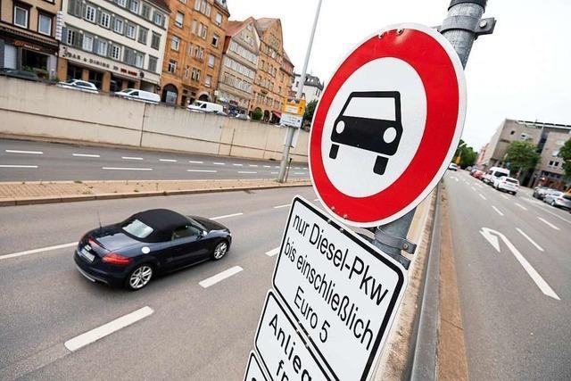 Fahrverbot für Euro-5-Diesel in Stuttgart – doch es fehlen Schilder