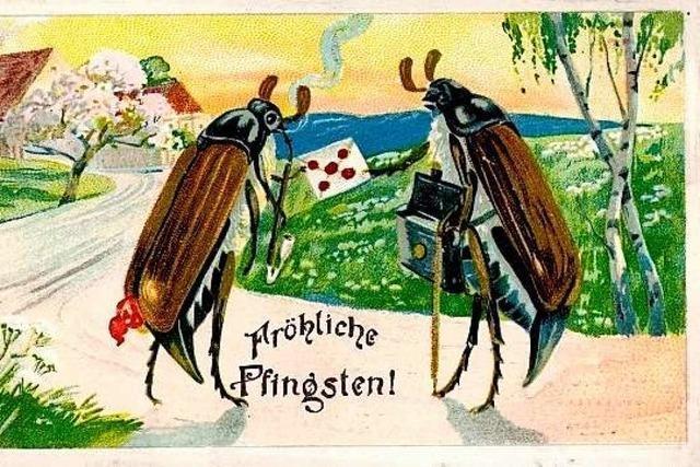 Alte Ansichtskarten aus der Ortenau: Dorfansicht oder Tipps für die Ehefrau