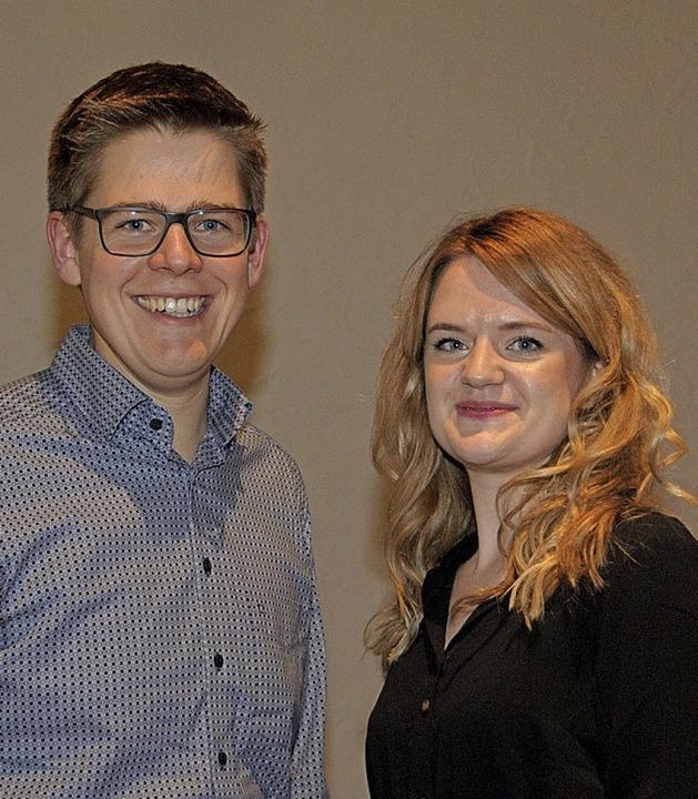 Die Gemeindediakone Kathrin Husser und Jonathan Grimm bauen die YChurch auf.  | Foto: Regine Ounas-Kräusel