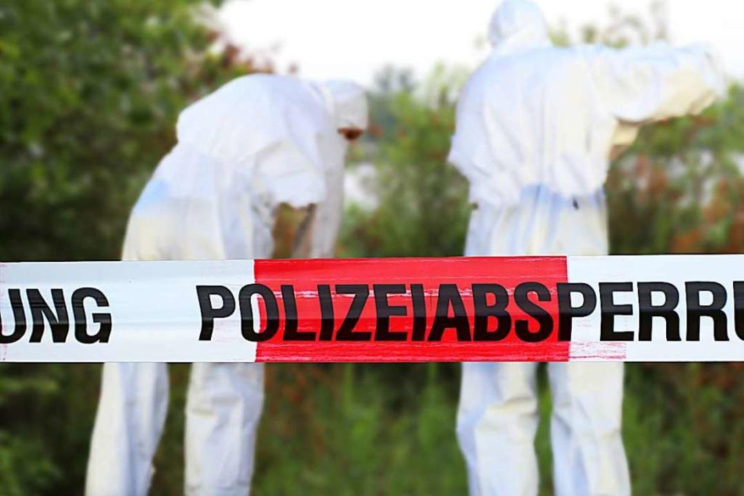 Spurensuche nach einem Tötungsdelikt  | Foto: U. J. Alexander - stock.adobe.com