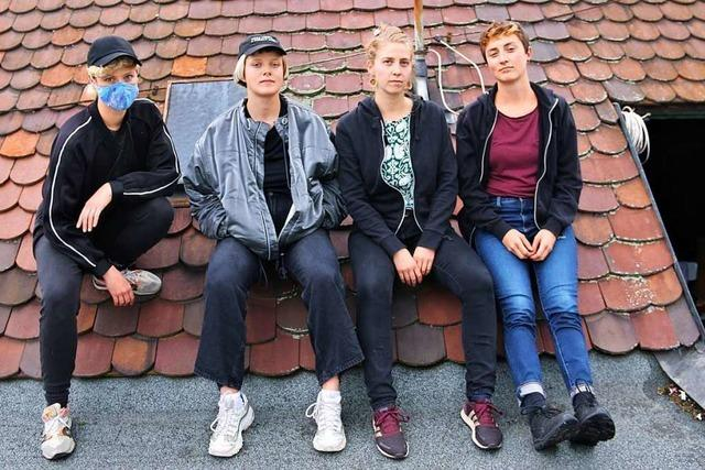 Die Freiburger All-Female-Band The Klitters: