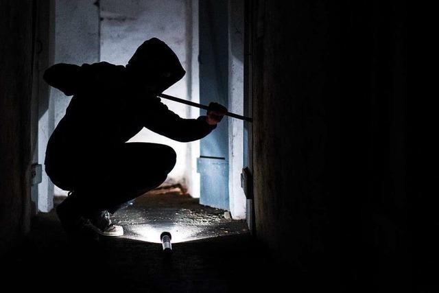 Einbrecher haben die Polizei in Emmendingen auf Trab gehalten