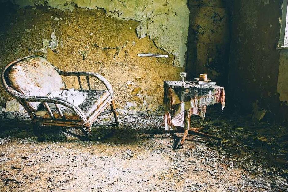 """Mitten im Schwarzwald liegt das """"Schimmelhotel"""". Jasmin Seidel hat die Stimmung für ihren Bildband """"Lost Places im Schwarzwald"""" eingefangen. (Foto: Jasmin Seidel)"""