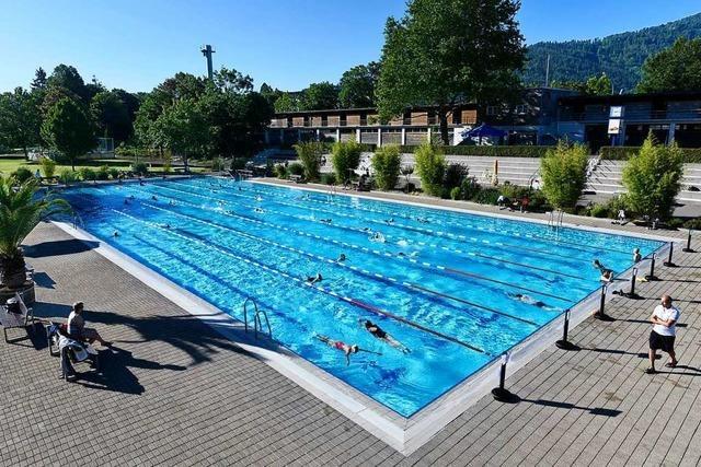 Freiburgs Strandbad zum Saisonauftakt am Mittwoch bereits ausverkauft