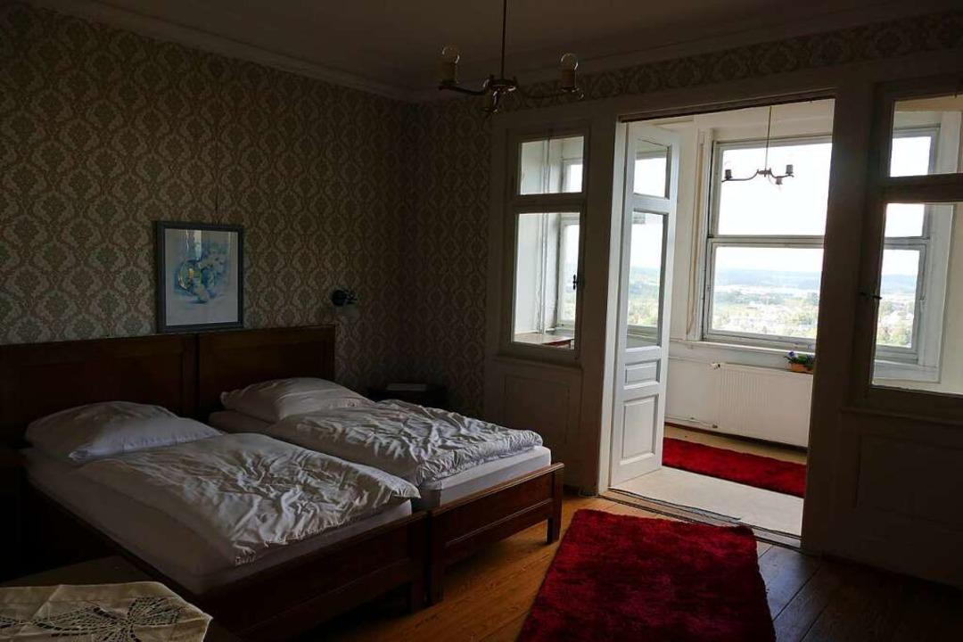 Ob aus Nervenkitzel oder Freude an Ges...rei Zimmern wieder übernachtet werden.  | Foto: Uwe Baumann