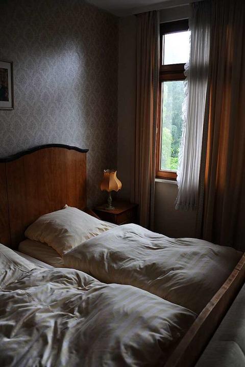 Selbst die Betten sind noch gemacht.  | Foto: Uwe Baumann