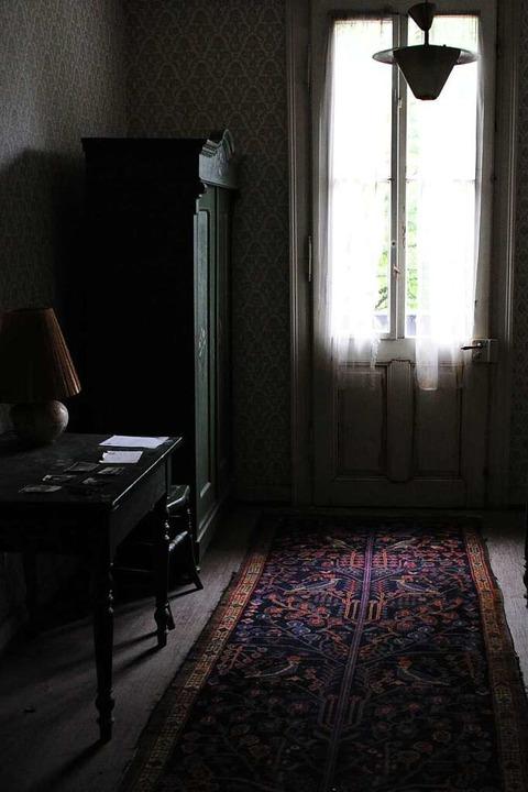 Auch die Zimmer sind seit Jahrzehnten unangetastet.  | Foto: Uwe Baumann