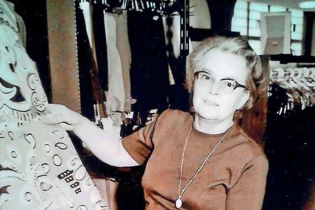 Margarete Blum war Modeverkäuferin aus Leidenschaft