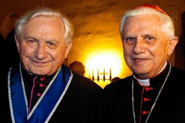 Papst-Bruder Georg Ratzinger gestorben